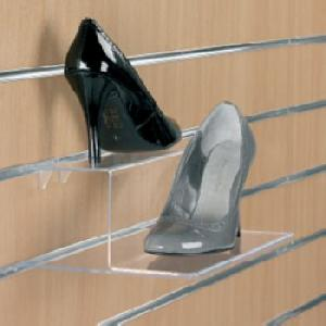 Acrylic Slatwall Shoe Display