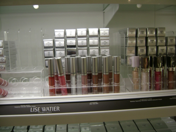 Acrylic Lipgloss Display